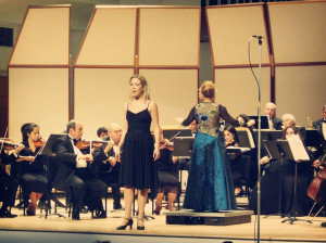 Performing with the Florida Chamber Orchestra